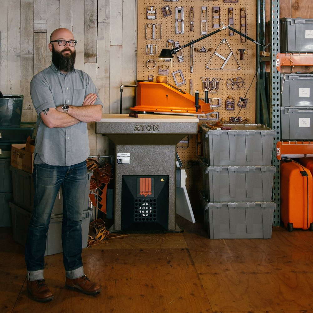 MATT PIERCE / Portland   Leather Crafter & Designer