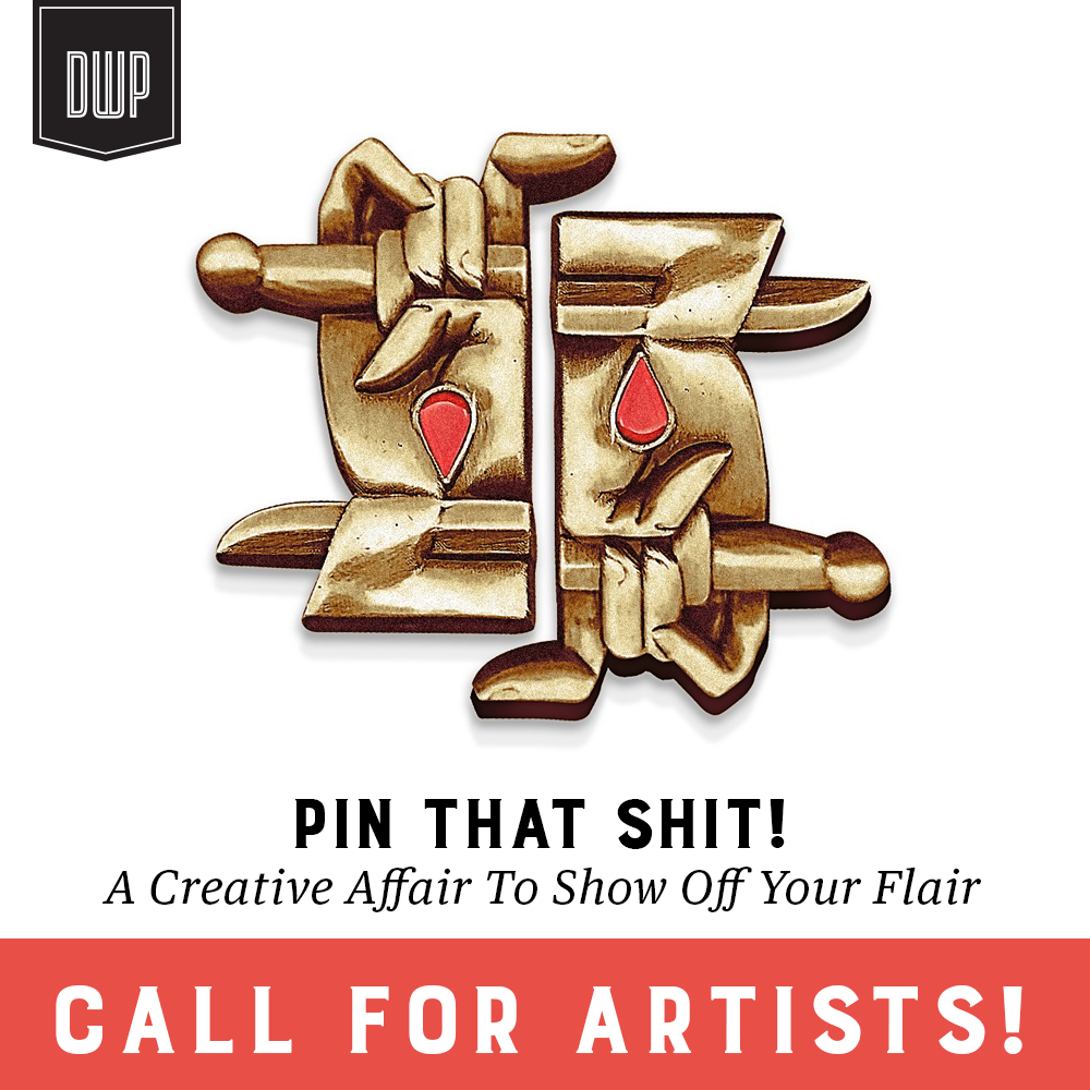 Featuring Pins from some of our favorite designers, Like this one from  Dan Christofferson  (Beeteeth)