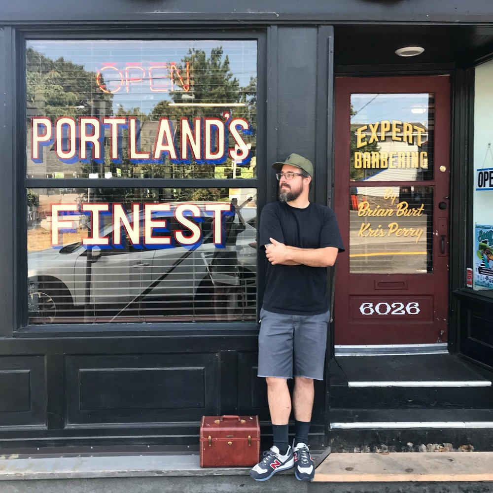 TRAVIS WHEELER / Portland Sign Painter, Artist