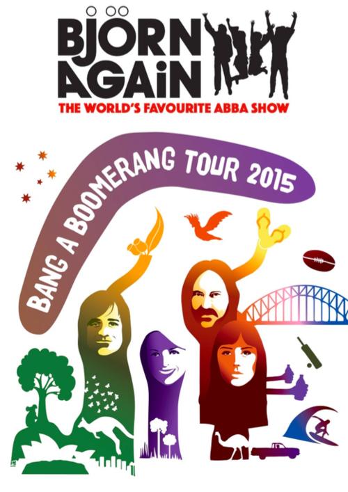 Anita's Theatre Thirroul — Bjorn Again (ABBA): Bang A Boomerang ...