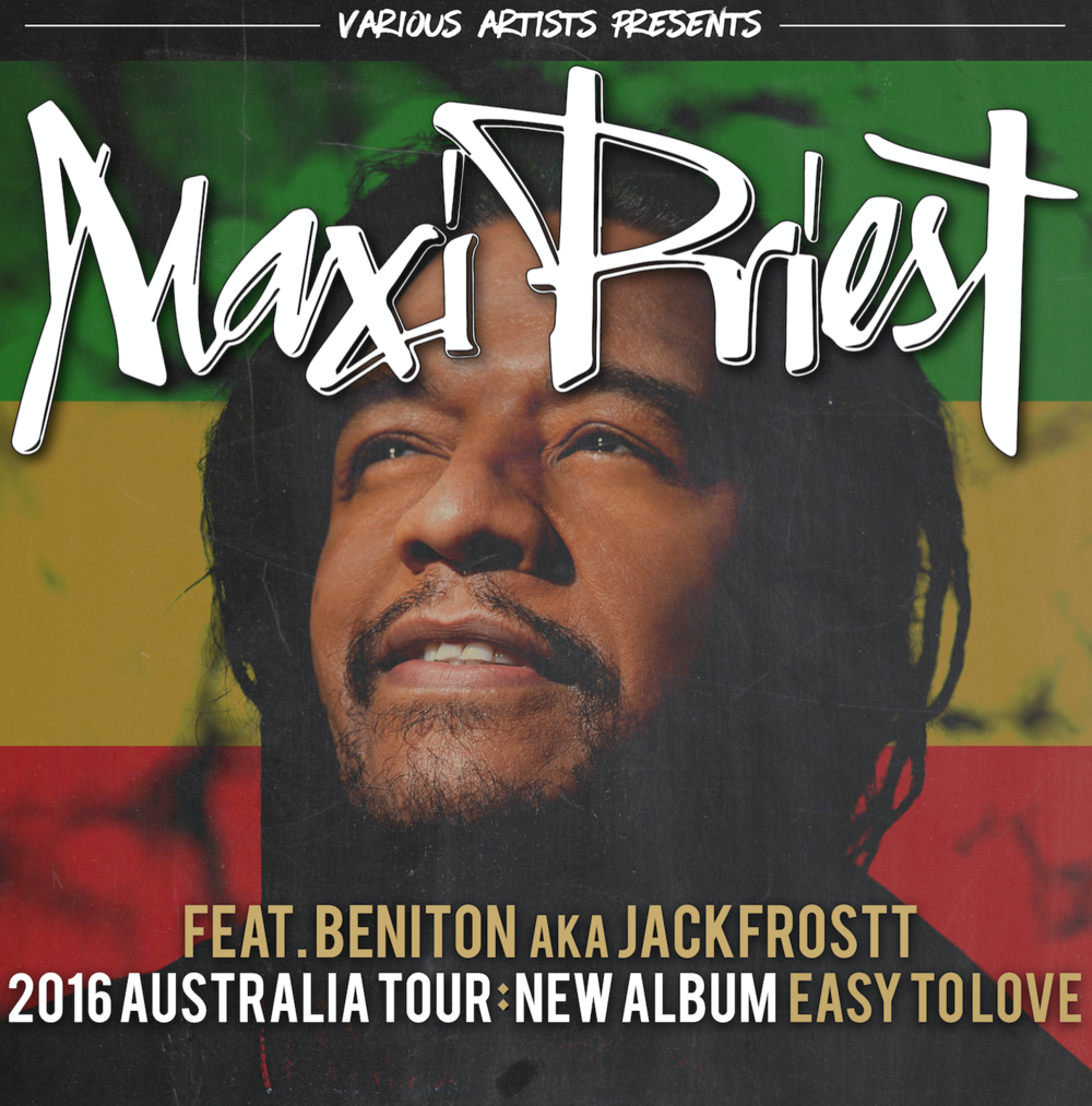 Maxi Priest Australian Tour