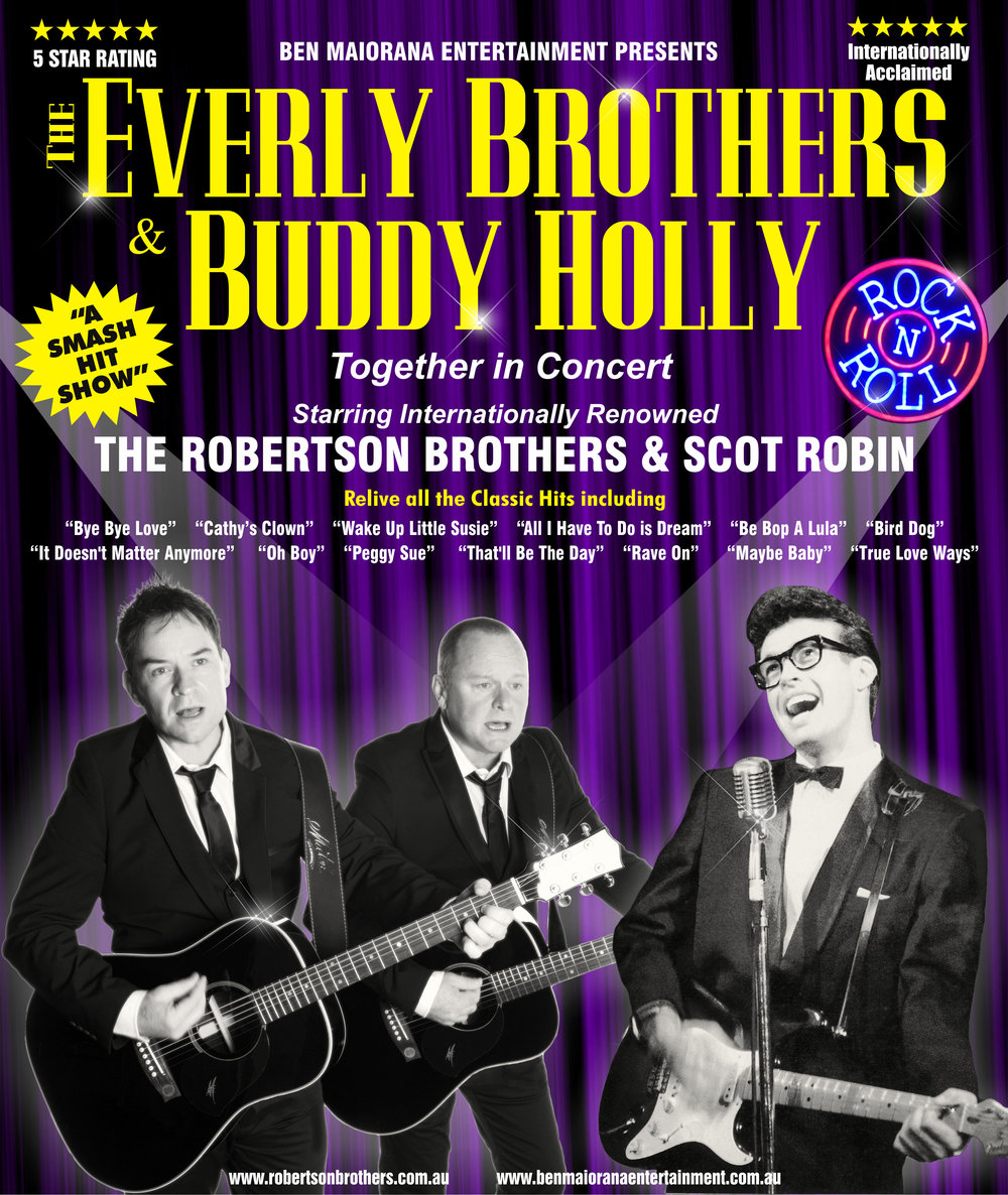 f2d1c5fb59f Anita s Theatre Thirroul — The Everly Brothers   Buddy Holly