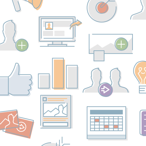facebook for business: icons