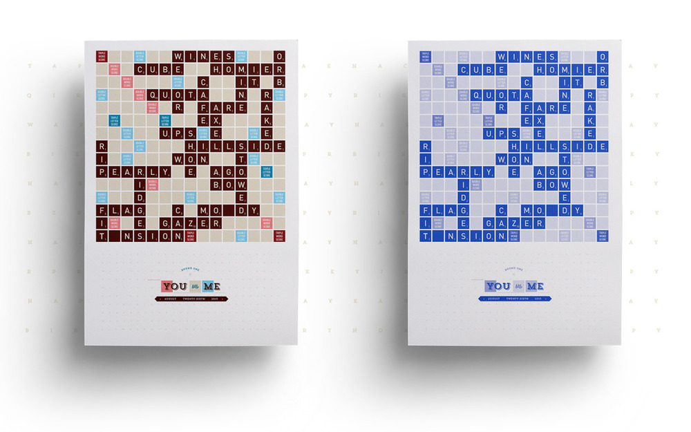Scrabble Print
