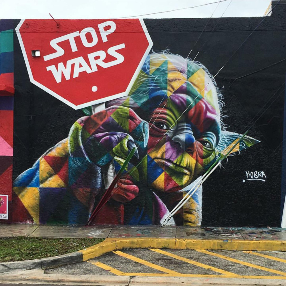 linxspiration :     Stop wars.