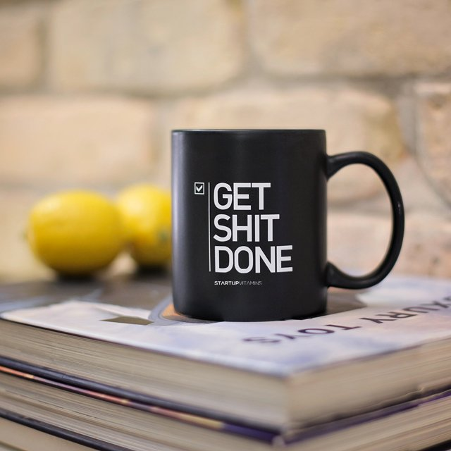 linxspiration: Get shit done.