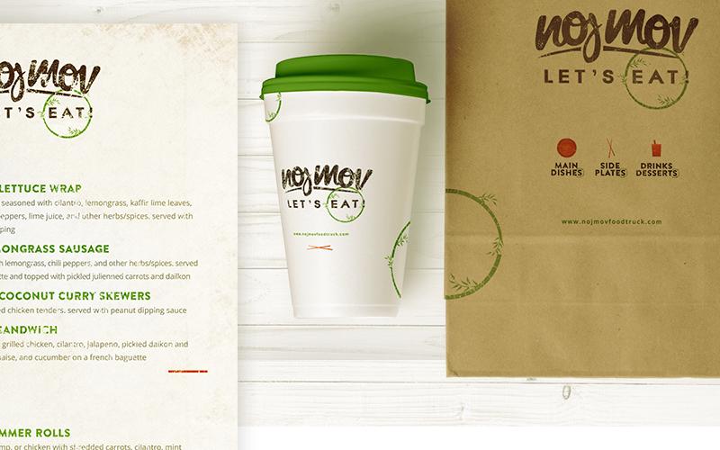 NojMov Foodtruck Branding