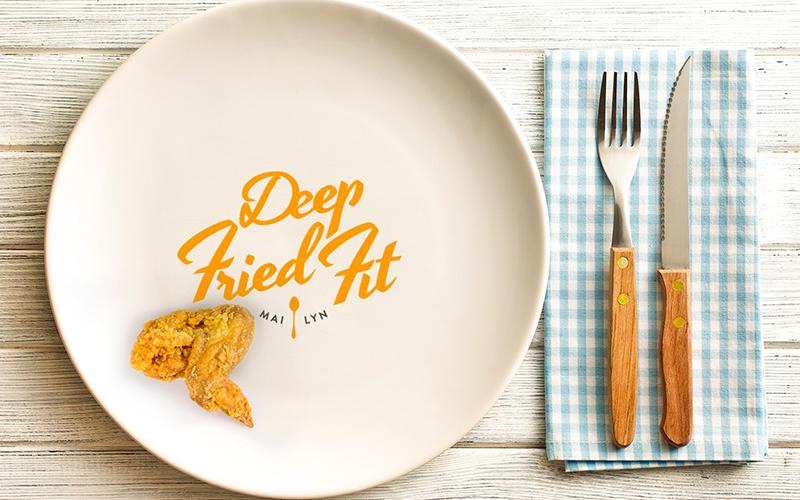 DeepFriedFit Logo
