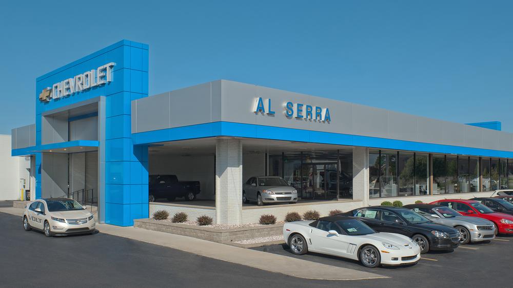 Elegant Grand.Blanc, MI.Chevy.JPG · Al Serra Chevrolet