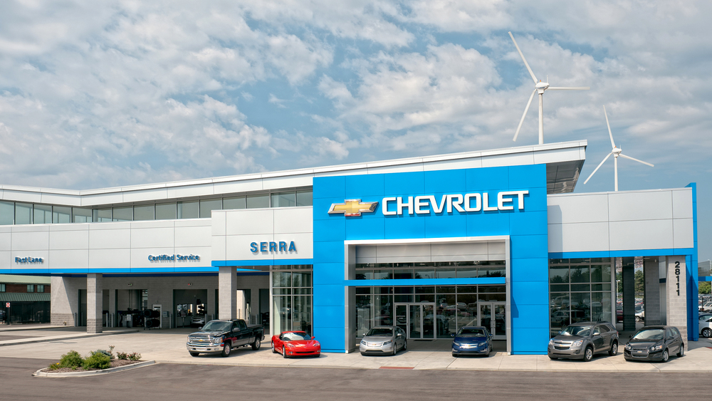 Serra Chevrolet 28111 Telegraph Road Southfield, MI 48034 248 354 6001  Serrachevrolet.com