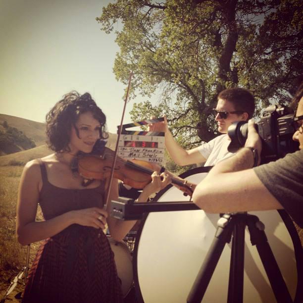 Sasha Pieterse R.P.M. music video shoot