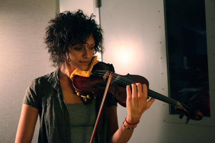 Flavia Watson recording session