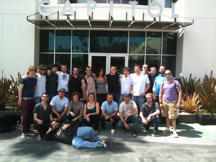 """CalArts Large Ensemble recording of """"144"""" at Capitol Records for CalArts Jazz 2011 CD"""