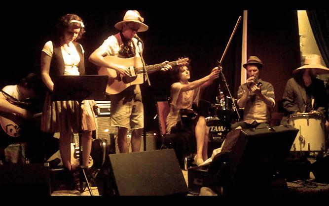 Storytelling Band at Blue Diamond Festival