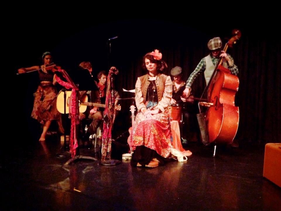 Storytelling Band in Lost in Lvov at Highways Performance Space