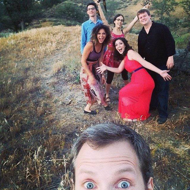 River Song Quintet photo session