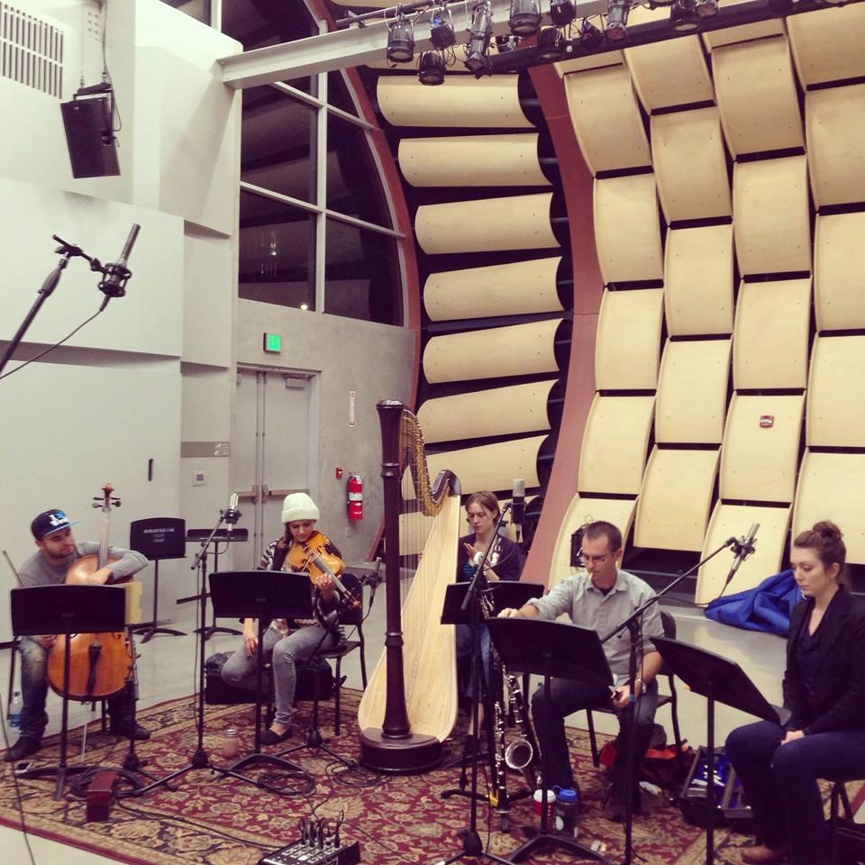 Greg Uhlmann recording in Wild Beast