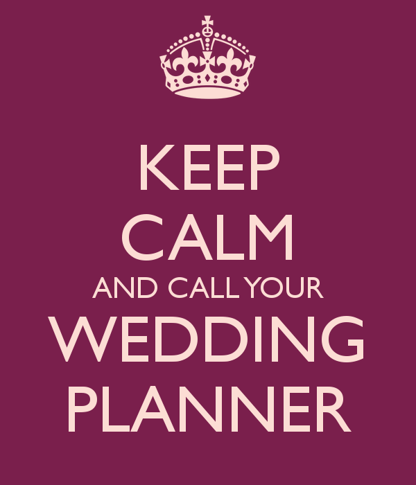 Wedding Planners Can See The Future