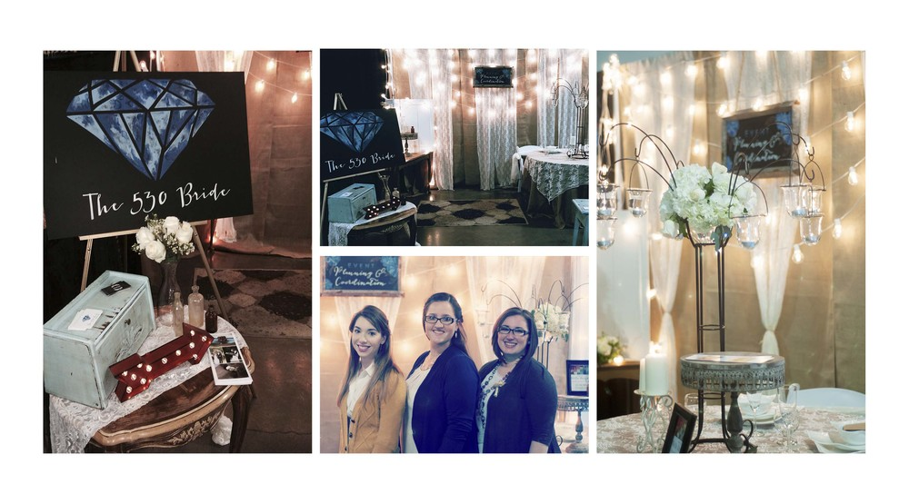 Thanks for stopping by to say hello at our booth, wish we took more pictures but hey we were busy talking weddings! Thank you to  WeDo Designs ,  Molly Ryan Floral  and  Echo Designs  for making our booth our favorite one we have done so far.