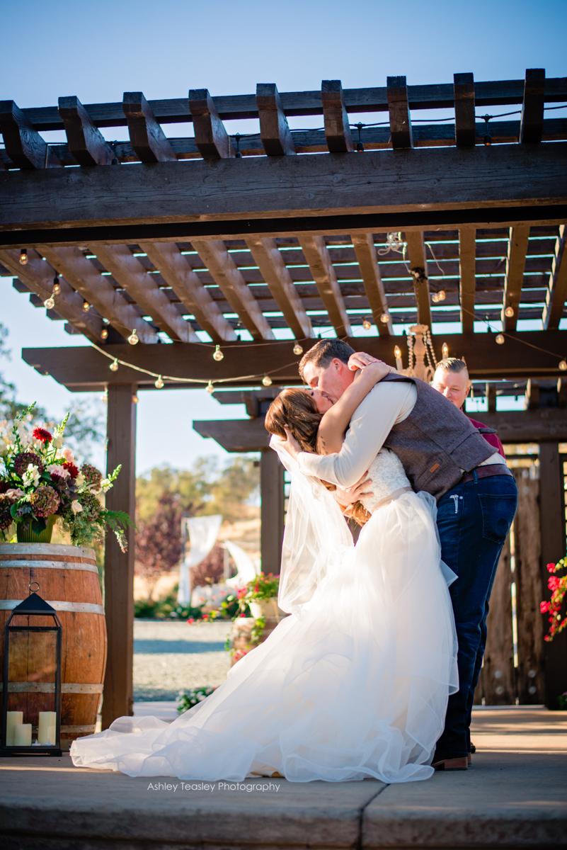 Northern California Wedding Planner Rancho Victoria Vineyard