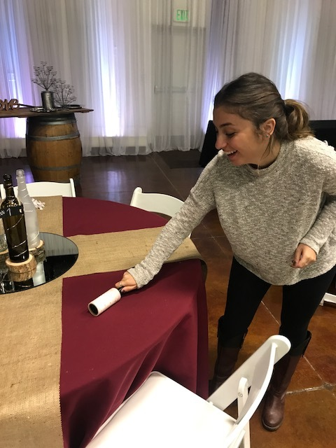 Mely lint rolling the tables