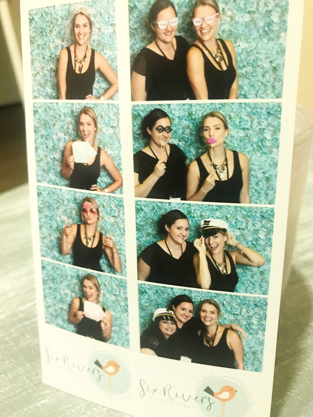 A little photobooth fun with Six Rivers Photography at one of the recent bridal shows!