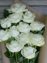 WHITE ROSES     WHAT THEY MEAN:  I am worthy.    GIVE THEM TO:  Judgmental grocery store cashiers. So what if I'm buying 6 containers of hummus. It's not like I eat it for every single meal or anything like that...