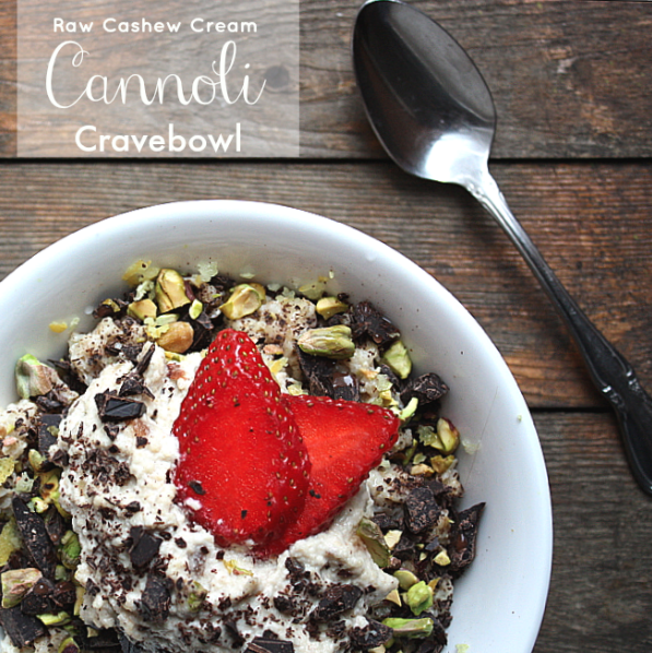 Cannoli Breakfast Bowl Vegan