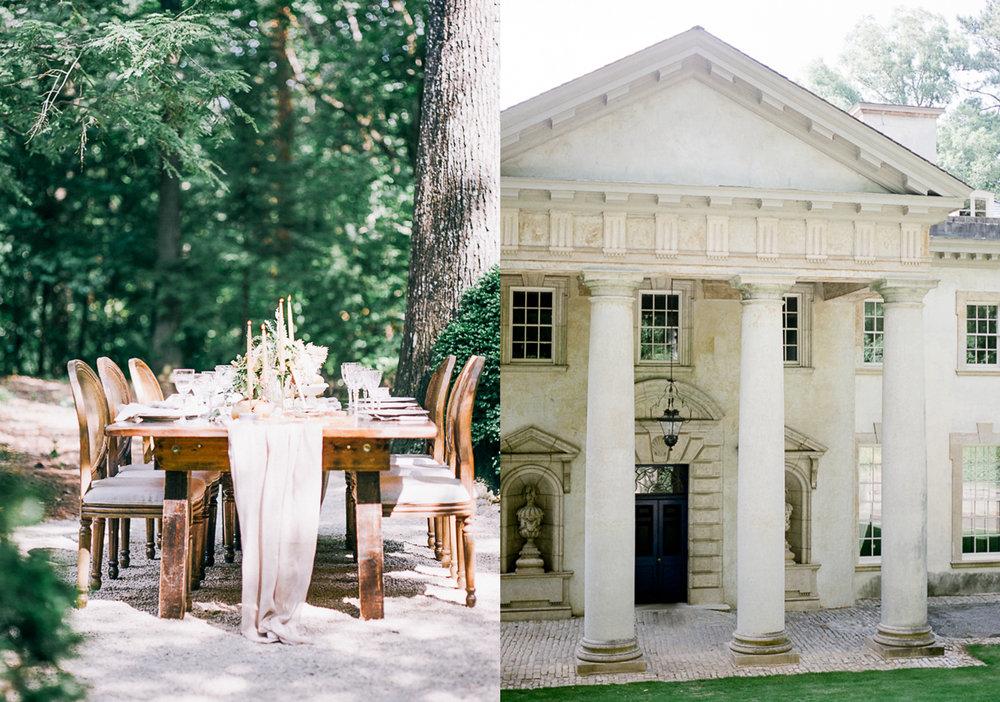 Atlanta History Center Wedding photographer film fuji 400