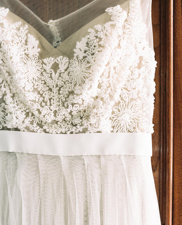 lace beaded wedding dress film photographer atlanta