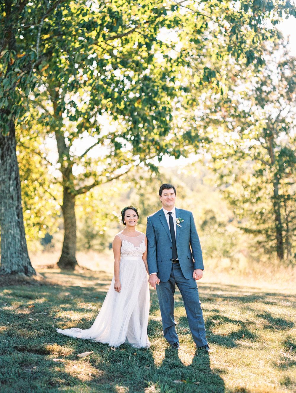 Atlanta Georgia fine art wedding photographer film portra 400