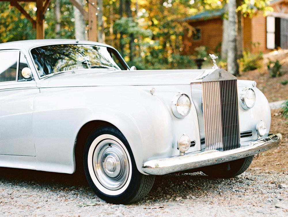 vintage car wedding Atlanta