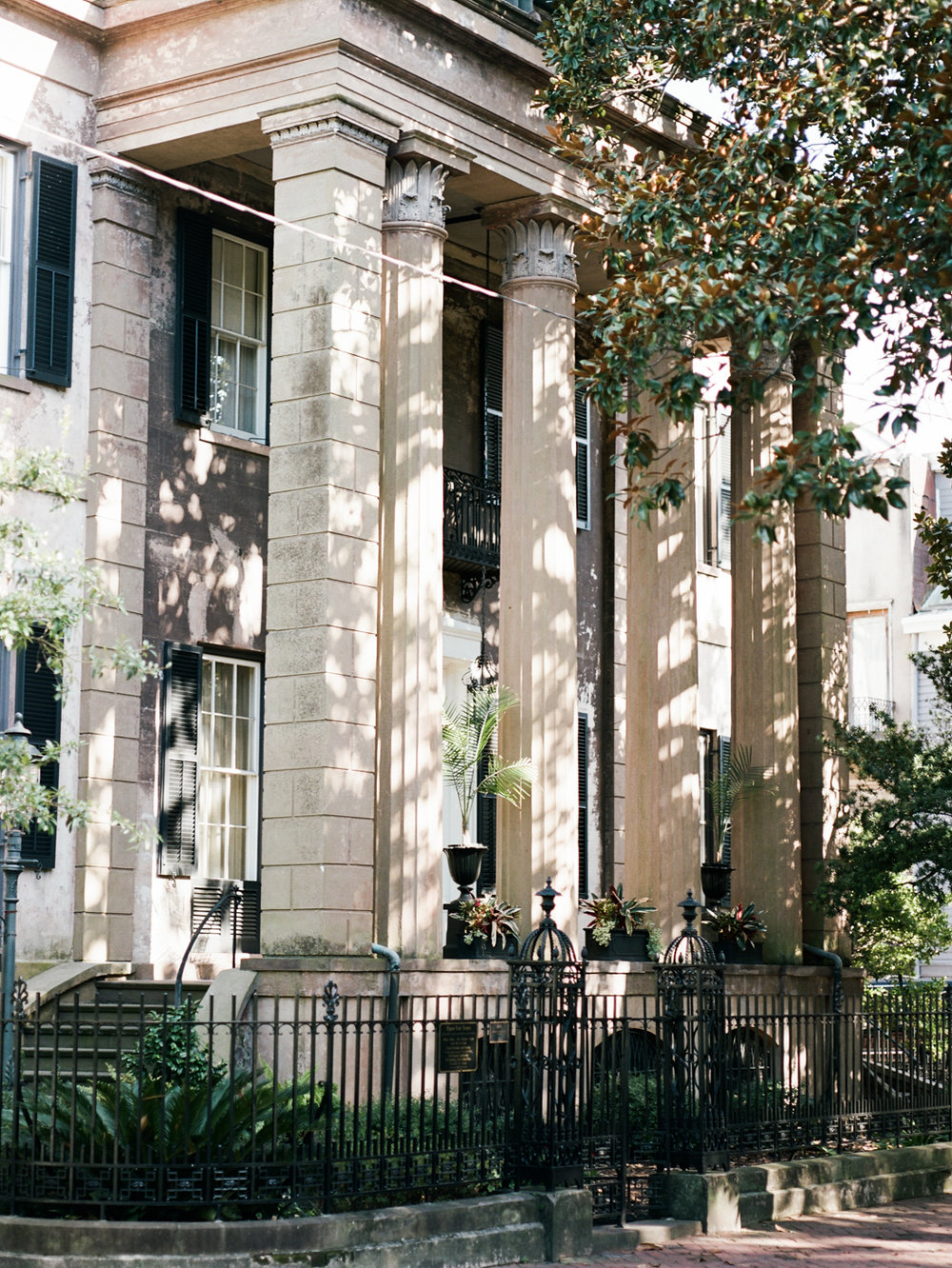 Savannah Historic District Harper Fowlkes House