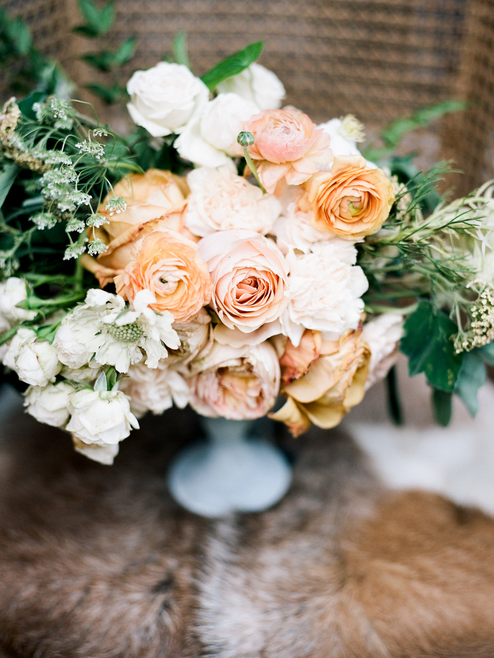 Savannah wedding flowers florist ranunculus roses
