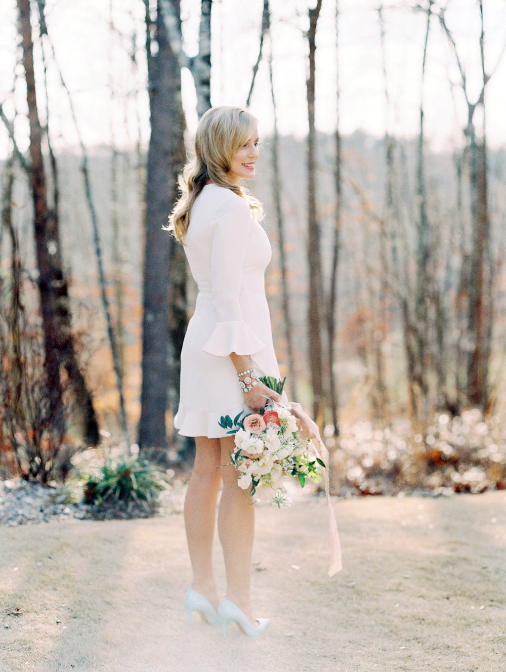 Atlanta film wedding photographer Dunaway Gardens