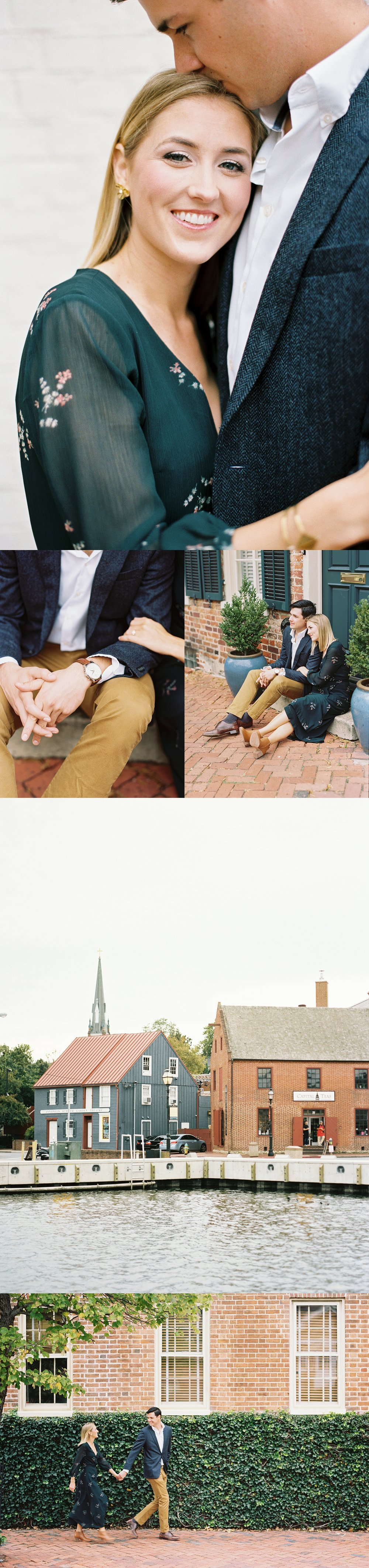 Annapolis engagement Sarah Ingram