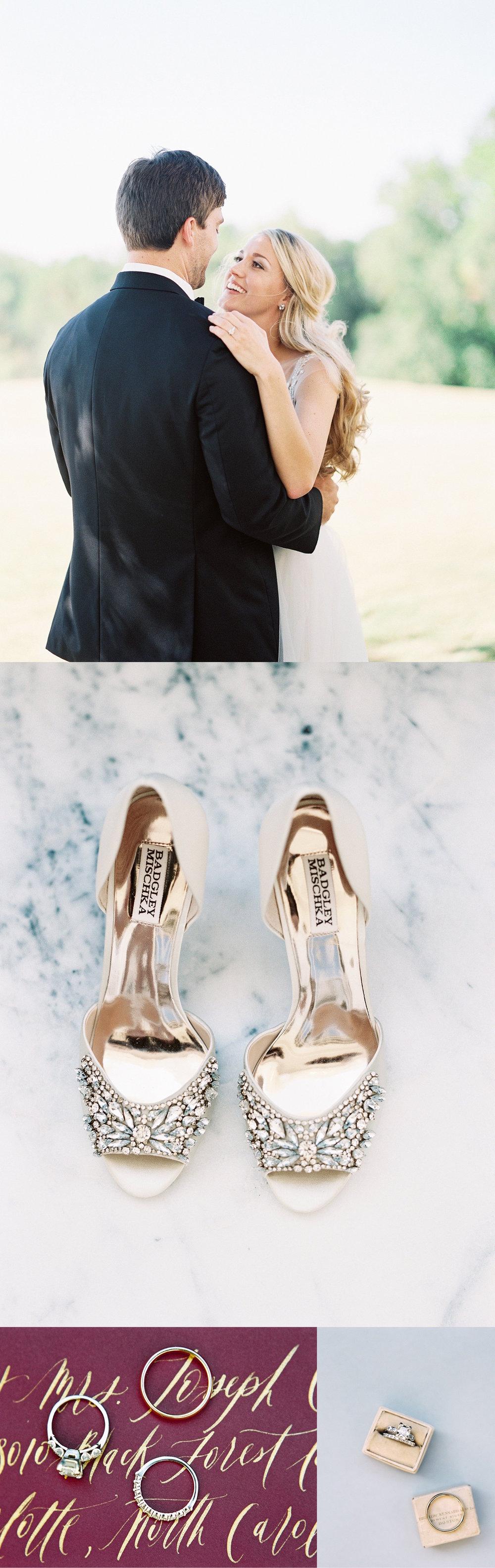 Atlanta wedding photographer film fall wine