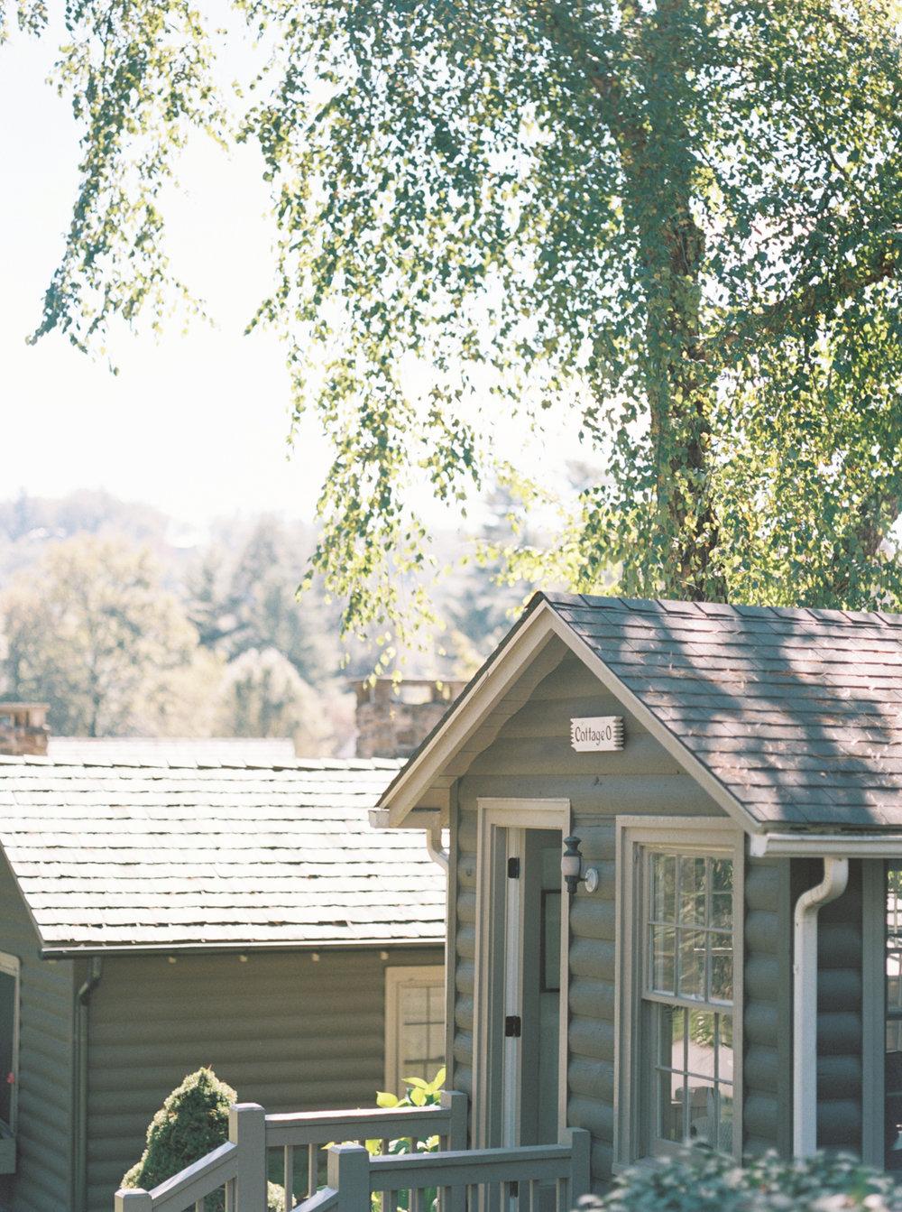 Asheville Highlands cabin rental cottage downtown