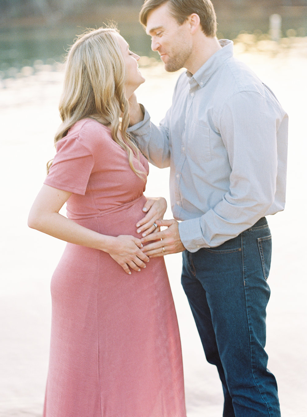 Atlanta maternity photography film fine art