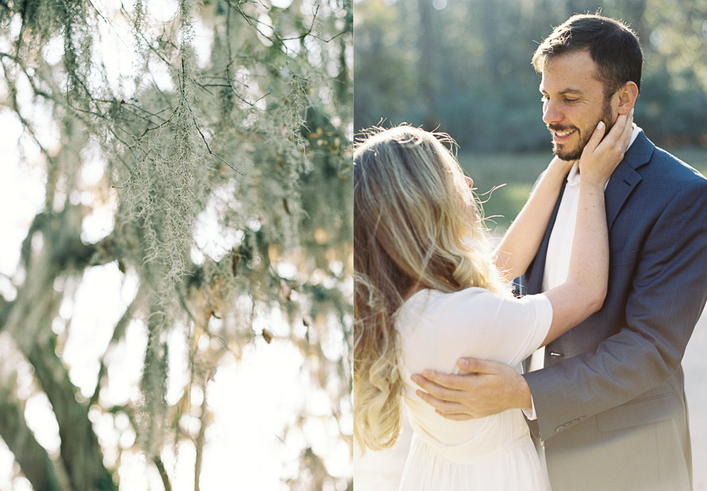 Wormsloe Plantation engagement session