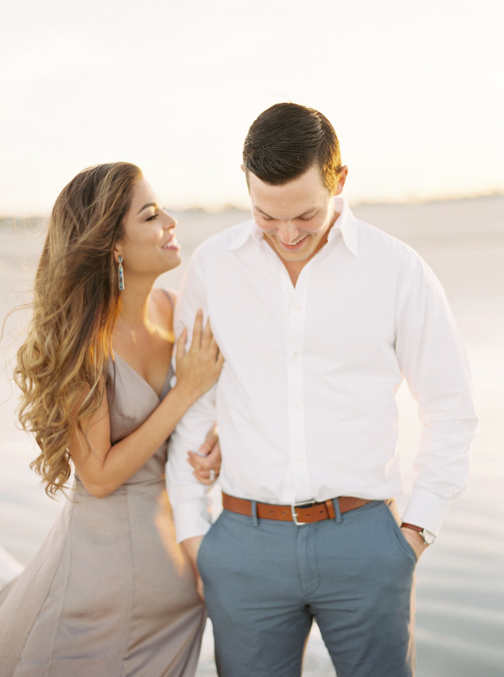 Alys beach engagement session fine art