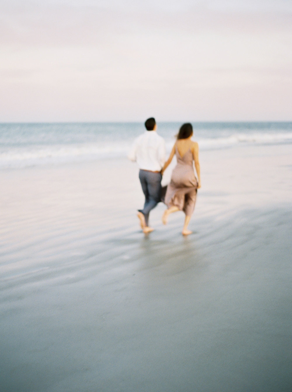 Rosemary beach engagement session film photographer