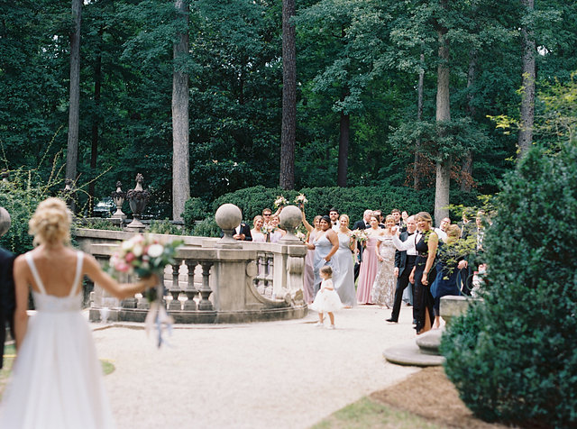 Swan House Wedding spring photographer