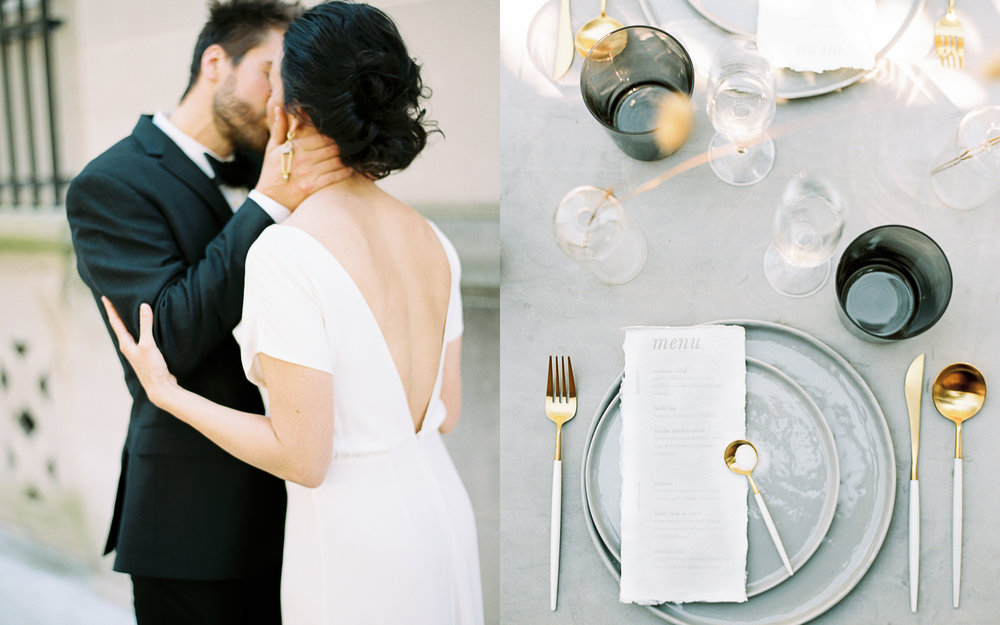 Modern wedding style Fall Charleston
