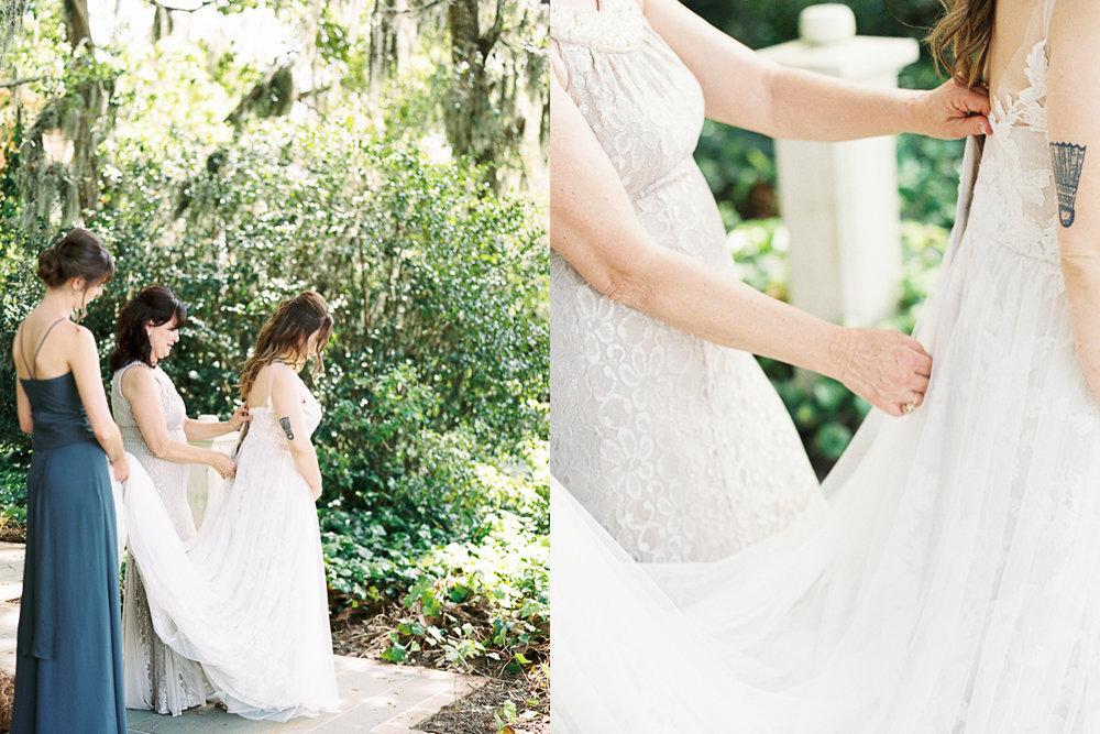 Palmetto Bluff wedding fall spring