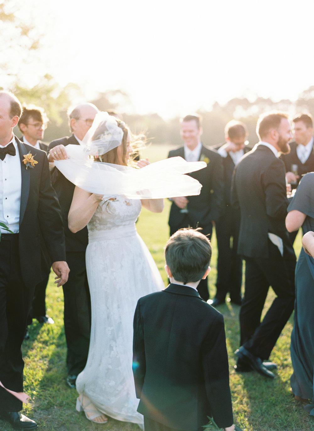 White Sparrow Barn wedding fall