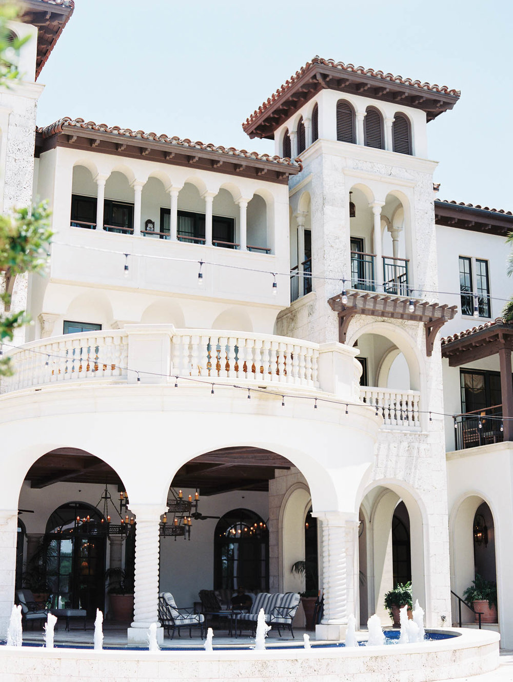The Cloister Sea Island wedding spring