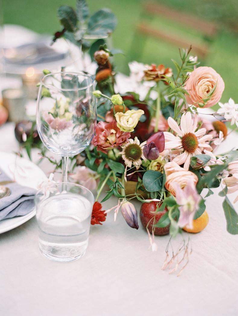 colorful wedding flowers organic Amy Osaba