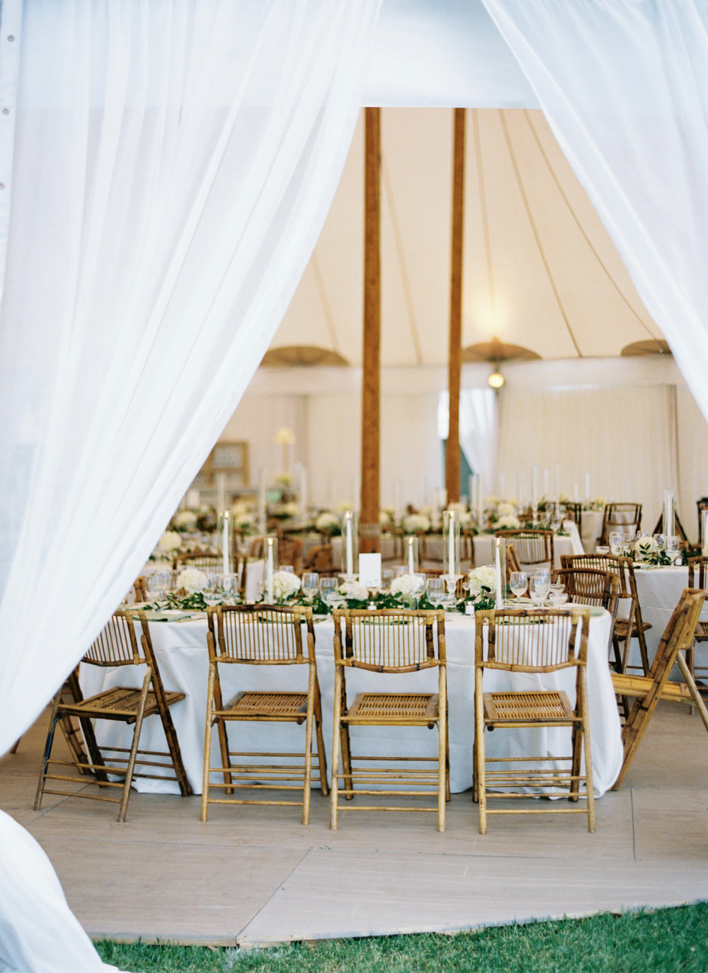 Wedding tent Sperry Sailcloth