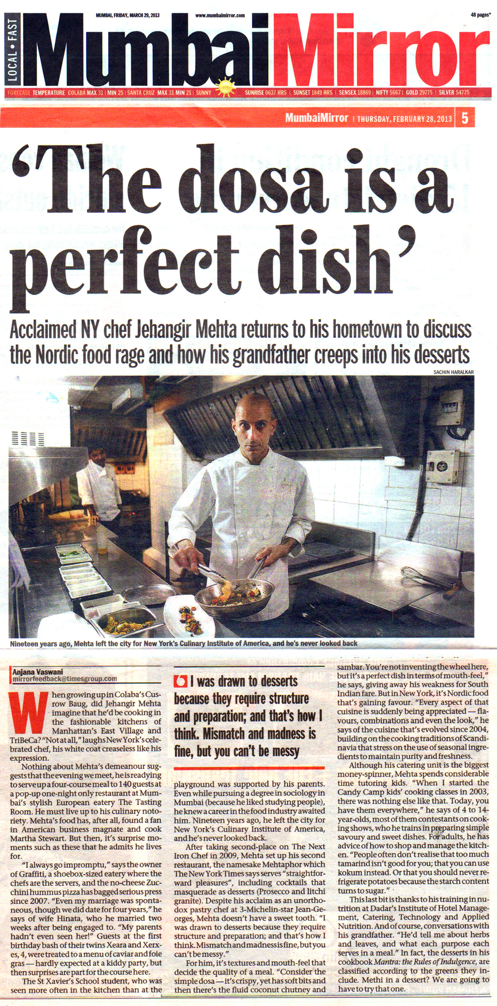 Mumbai Mirror (TOI) : May 2013